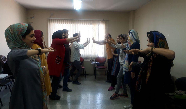 """گزارش تصویری  کارگاه """" فکر پروری از مسیر تئاتر شورایی"""""""